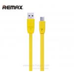 สายชาร์จ REMAX Ferrari Full Speed Micro USB 2 เมตร (สีเหลือง)