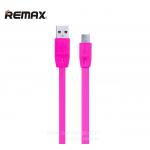 สายชาร์จ REMAX Ferrari Full Speed Micro USB (สีชมพู)