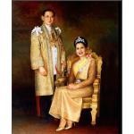 รูปในหลวงและพระราชินี (ใหญ่)1