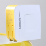 REMAX Charger Dual USB 3.4A (สีขาว)