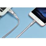 สายชาร์จ Micro USB Hoco U9 Zinc Alloy 1.2 เมตร (Silver)