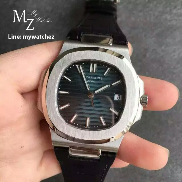 Patek Philippe 5711/1A-010 Stainless Leather Strap - Swiss Grade