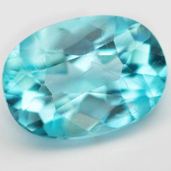 พลอยอะพาไทต์ (Apatite) พลอยธรรมชาติแท้ น้ำหนัก 0.80 กะรัต