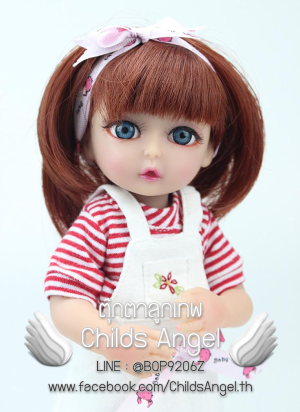 ตุ๊กตา - น้องเชอรี่ (Size Mini)