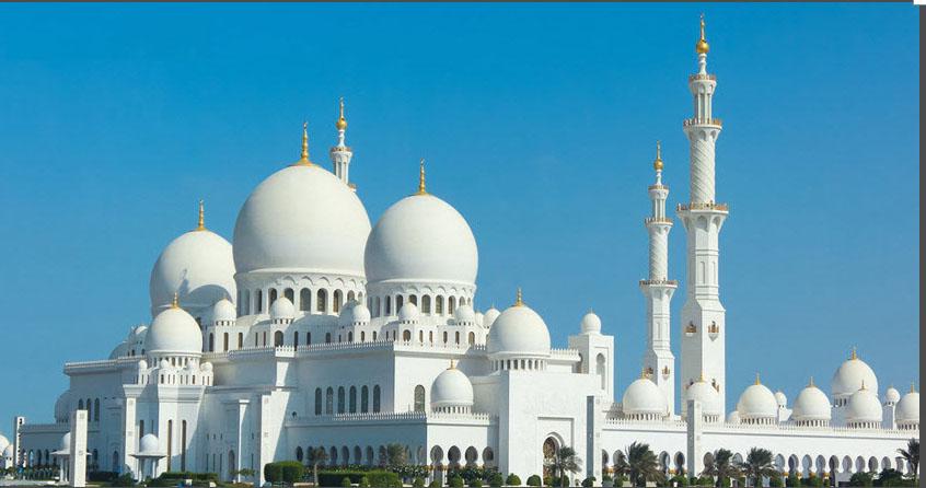 มัสยิด ชี้ค ซัยยิด (sheikh zayed grand mosque) ในอะบูดาบี2