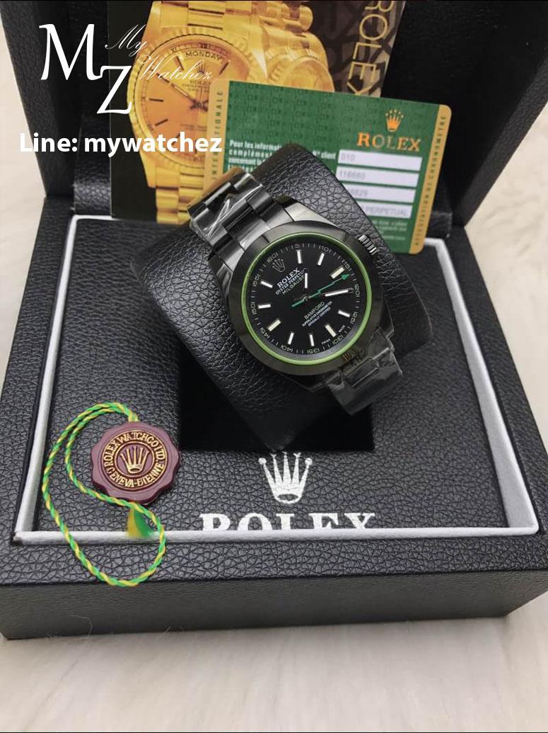 Rolex Milgauss 116400 - Bamford Edition Black PVD
