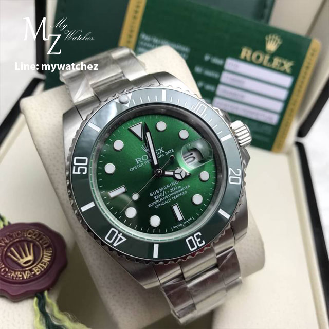 Rolex Submariner - The Hulk
