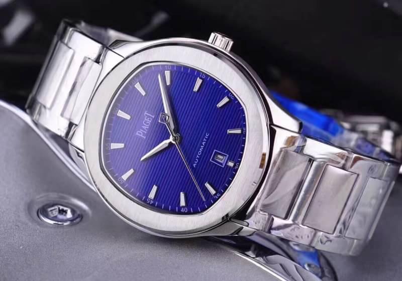 นาฬิกา Piaget Polo ฺBlue Dial ก๊อปเกรด Mirror และ เกรด Swiss
