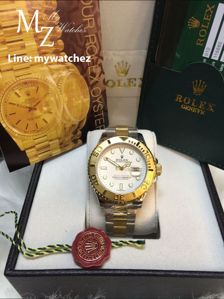 Rolex Yatch-Master I - White Dial/Two Tone
