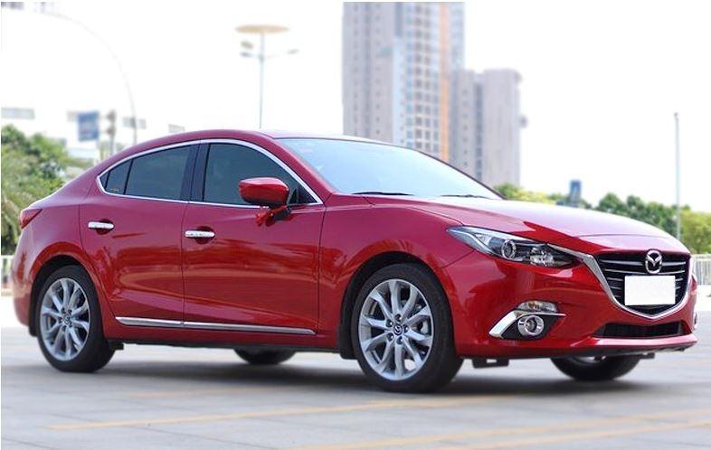 คิ้วกระจก Mazda 3 Skyactive (ใช้ได้ทั้ง 4 และ 5 ประตู)
