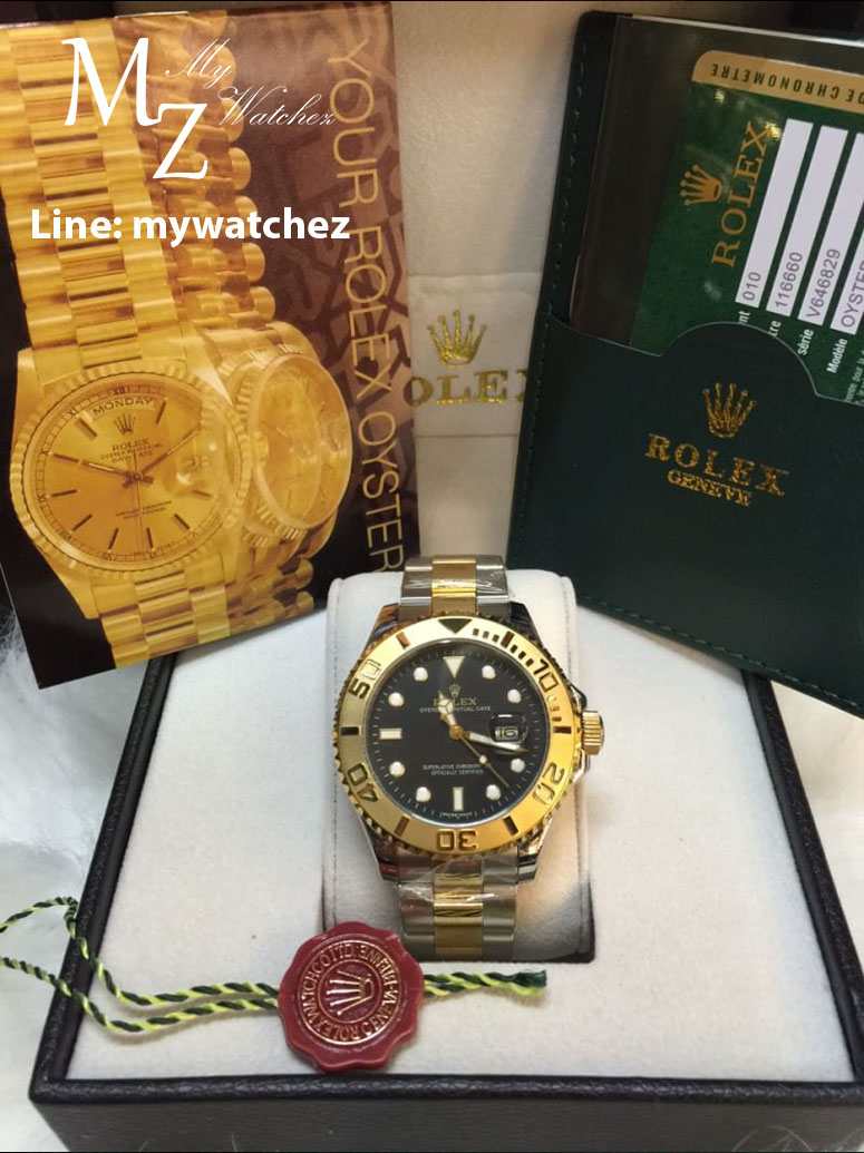 Rolex Yatch-Master I - ฺBlack Dial/Two Tone