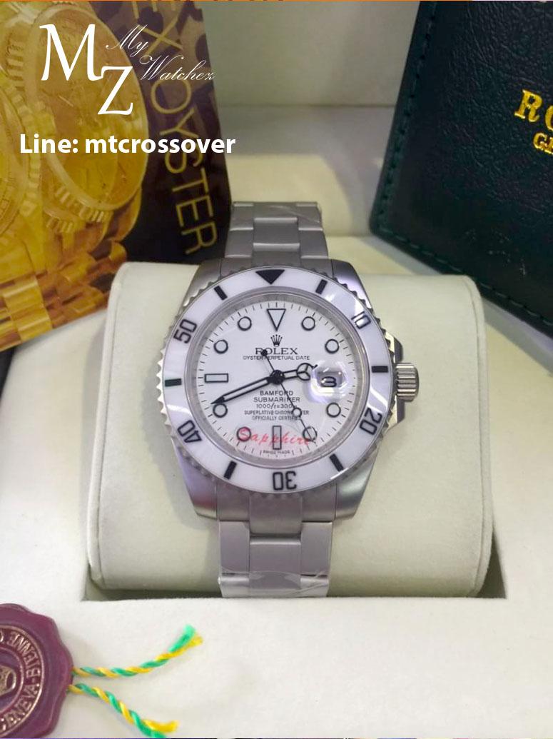 Rolex Submariner Date - White Dial Bamford