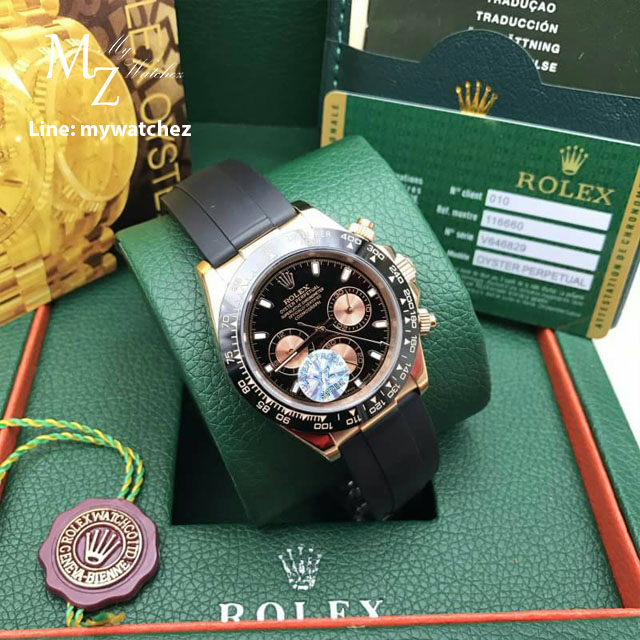 Rolex Cosmograph Daytona - Black Dial with Gold Sub-Second