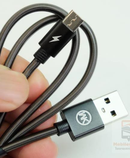 สายชาร์จ WK Kingkong Micro USB