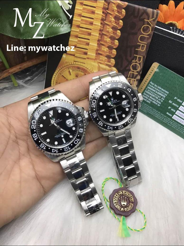 Rolex GMT MasterII Ref: 116710BLN Green Dial GMT