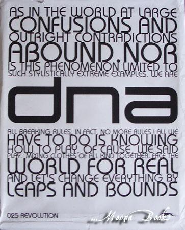 นิตยสาร dna ฉบับ Revolution