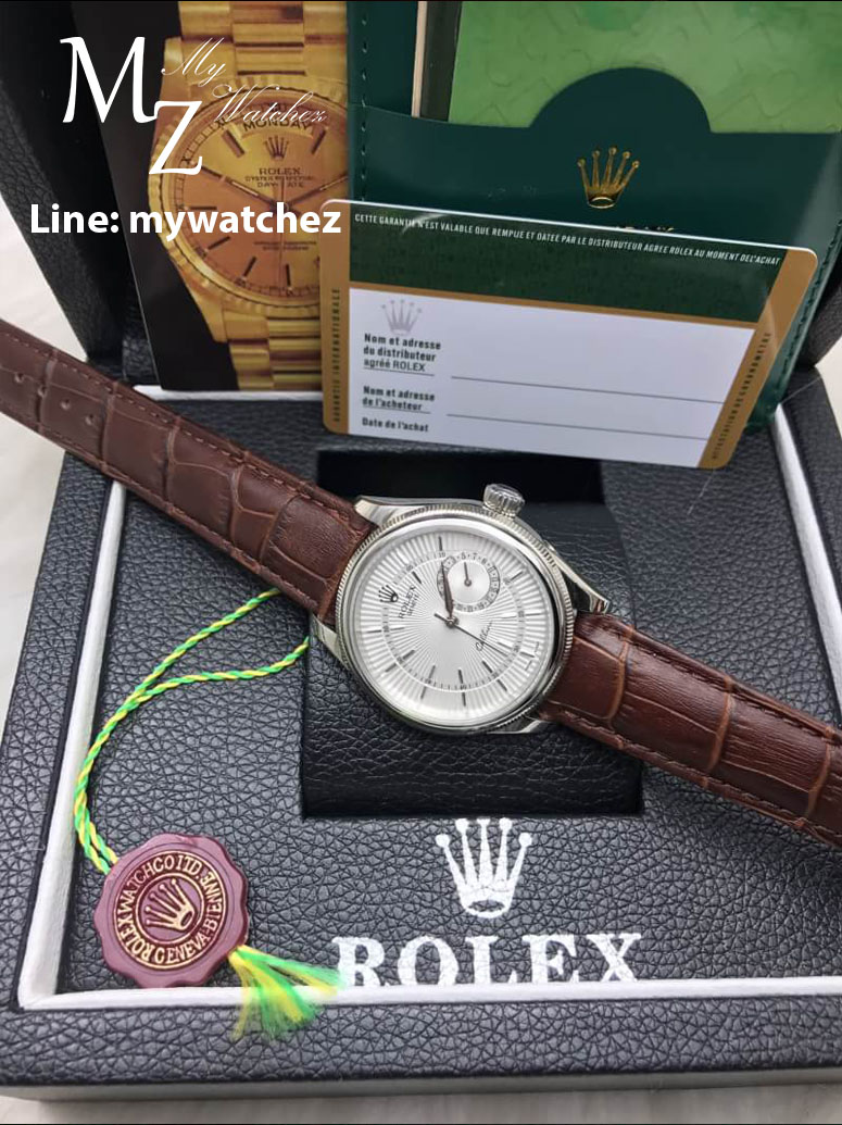 Rolex Cellini Date Ref:50519 - ฺฺSilver/White Stainless