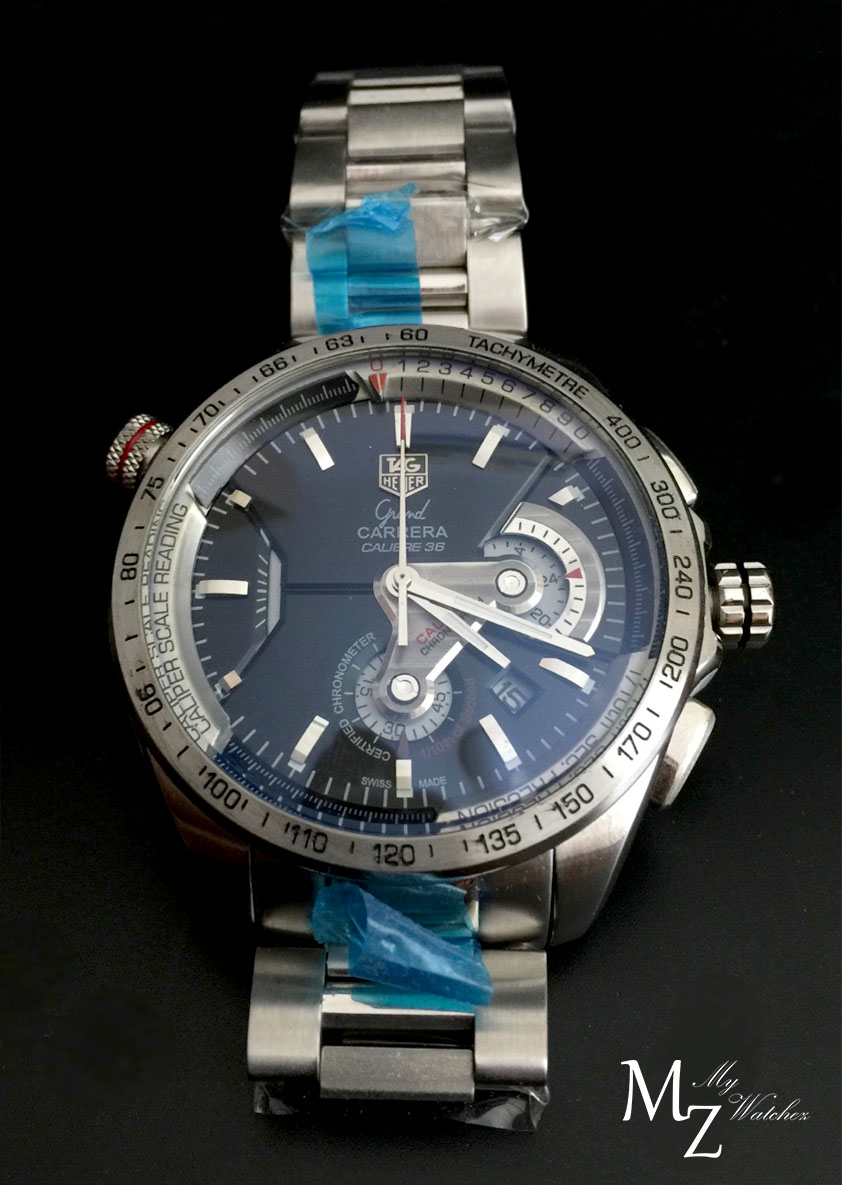 Tag Heuer Grand Carrera Calibre 36 Caliper Stainless