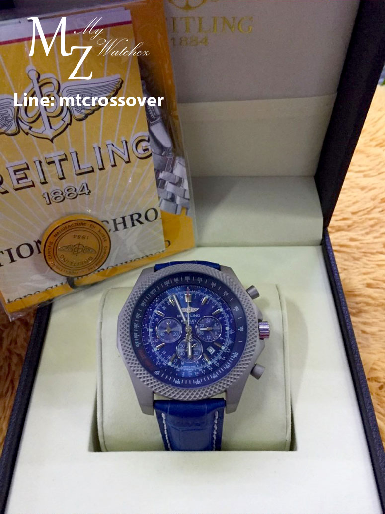 Breitling For Bentley B06 - Blue Dial and Strap