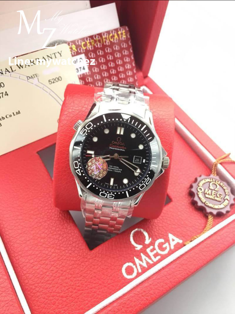 Omega Seamaster Diver 300M Co-Axial 41MM - Black Dial