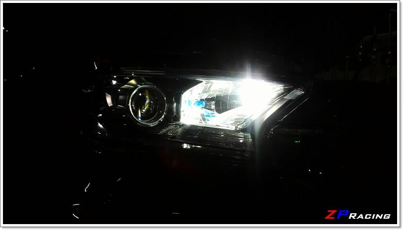 หลอดไฟหรี่/ไฟส่องป้ายทะเบียน LED