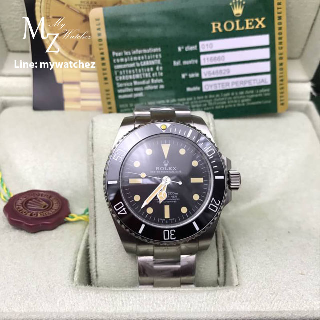 Rolex Submariner Black Dial Vintage 40MM
