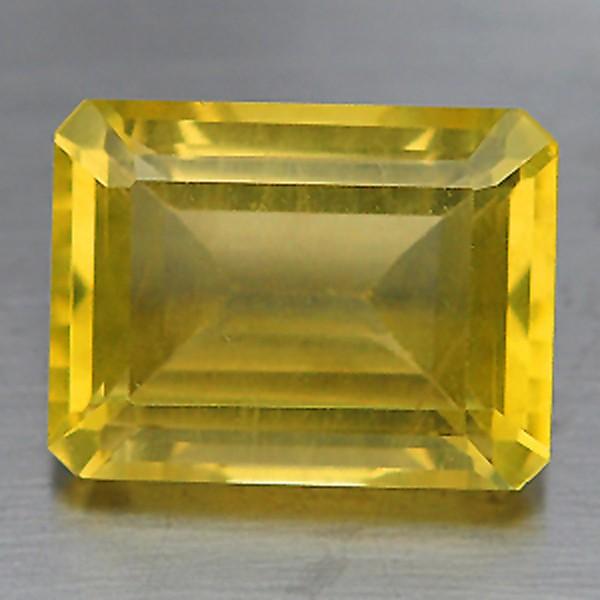 พลอยเลมอนควอตซ์ (Lemon Quartz) พลอยธรรมชาติแท้ น้ำหนัก 11.80 กะรัต