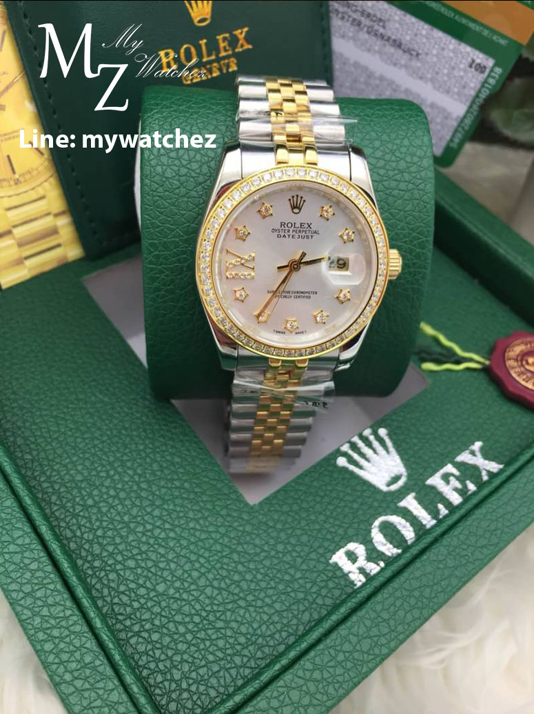 ROLEX Oyster Perpetual Datejust Two-Tone Gold
