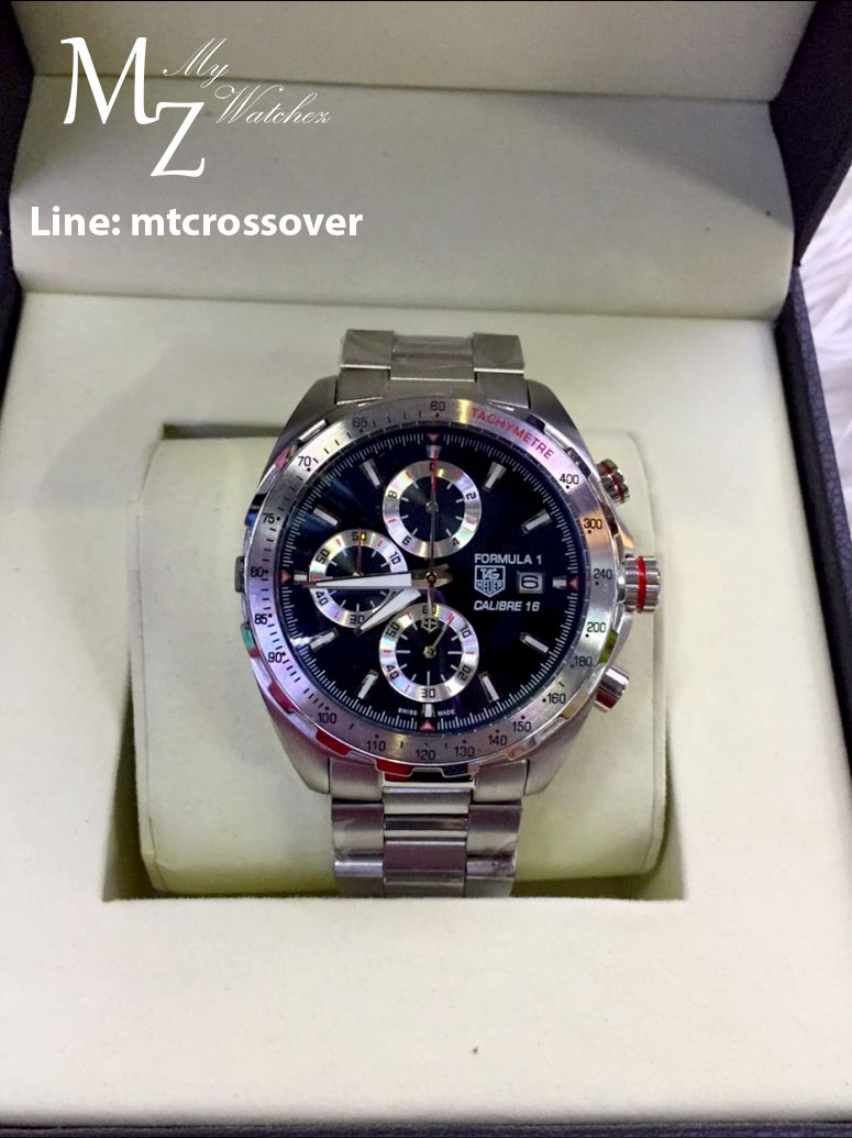 Tag Heuer Formula 1 Calibre 16 - All Stainless