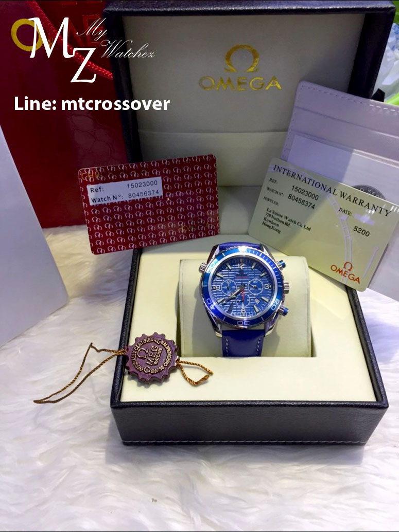 Omega Automatic Seamaster 007 Quantum of Solace Edition - ฺAll blue