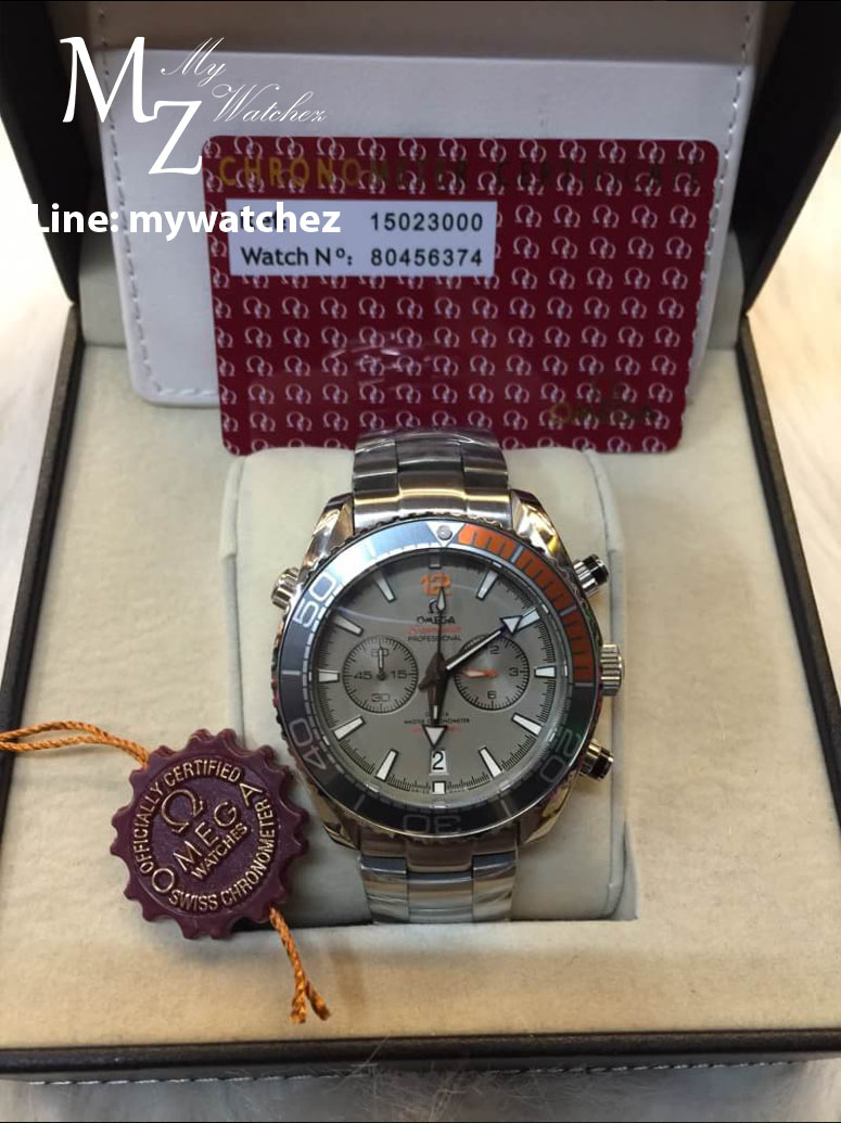 Omega Seamaster Planet Ocean 600M Co-Axial Master Chronometer Chronograph 45MM (Titanium)