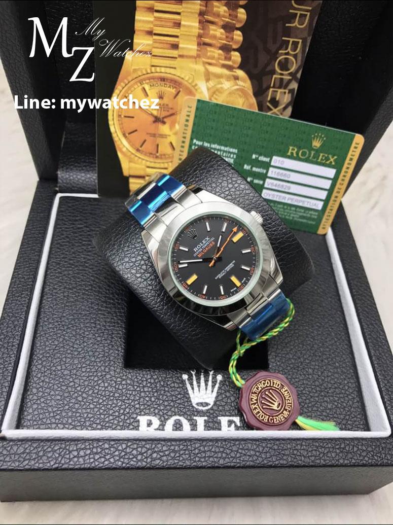 Rolex Milgauss 116400 - Black Dial