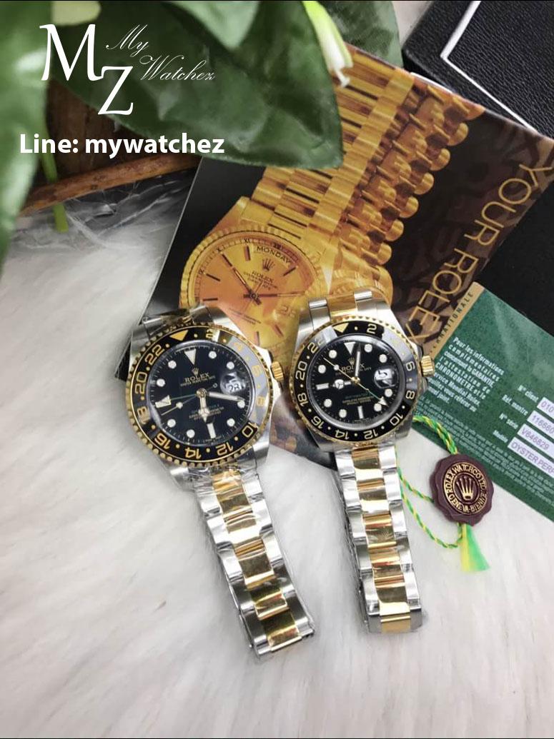 Rolex GMT MasterII Ref: 116713LN Two-Tone Edition