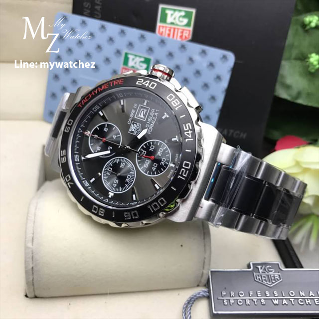 Tag Heuer Formula 1 Calibre 16 - Black case and St Stainless