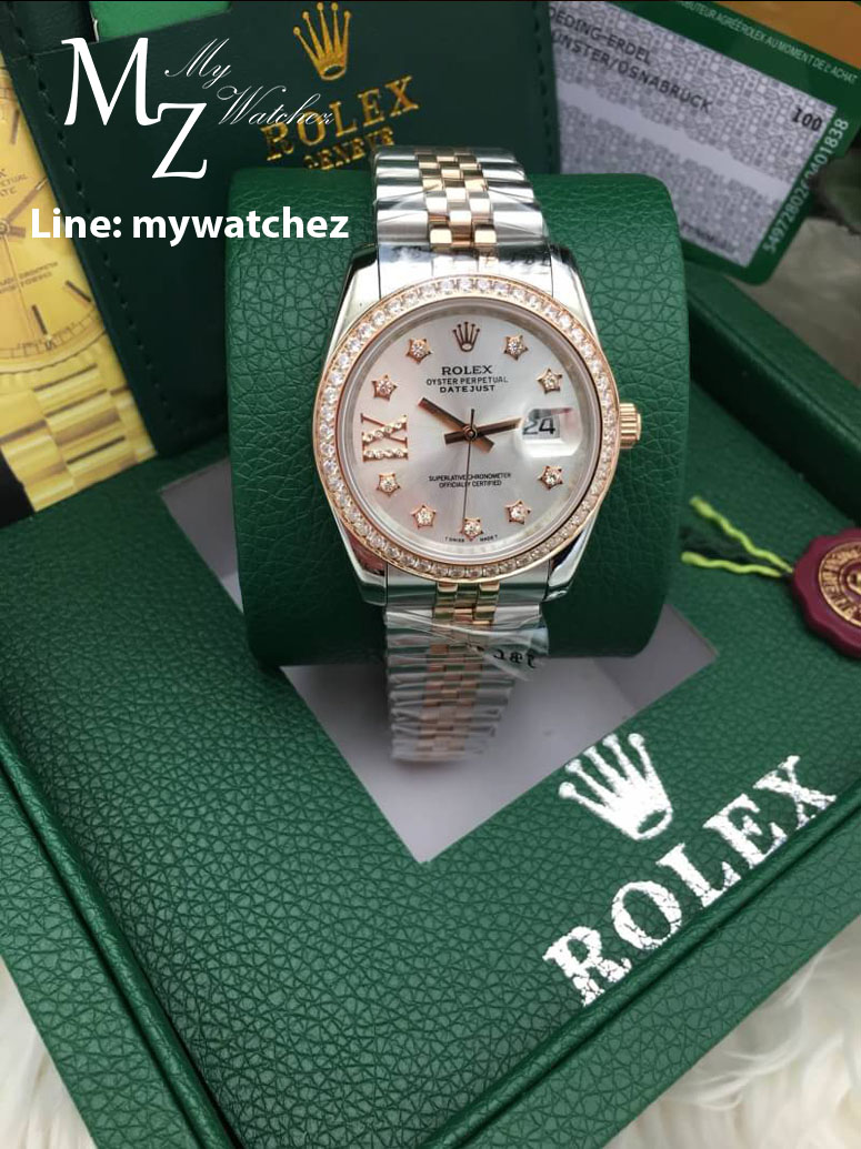 ROLEX Oyster Perpetual Datejust Two-Tone Rose Gold
