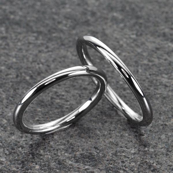 แหวนคู่รักทองคำขาว