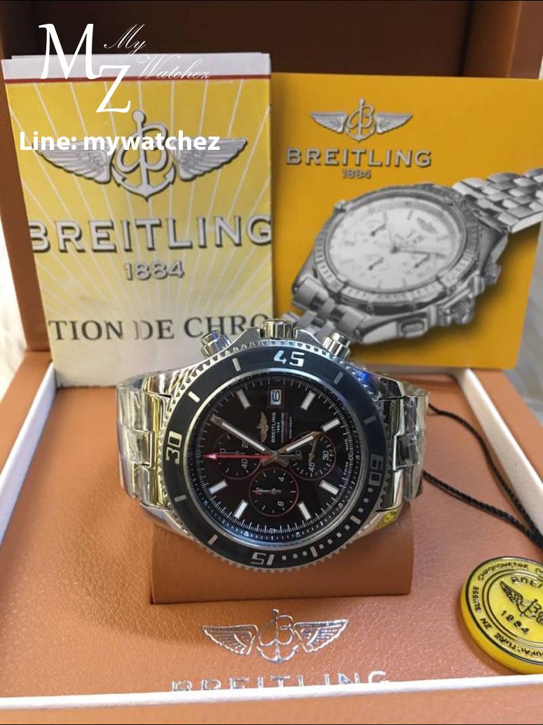 Breitling Superocean Chronograph II - Ceramic Bezel/Red Dial