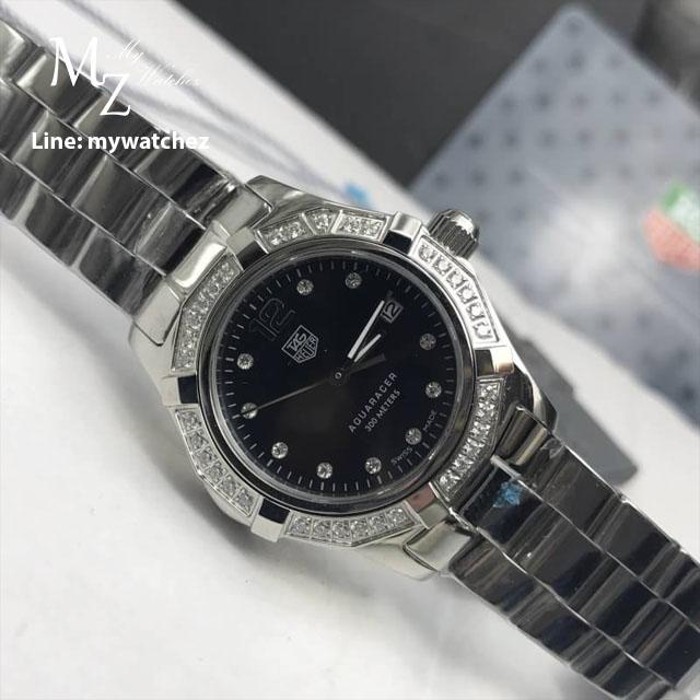 Tag Heuer Aquaracer Black Dial Ladies Watch - WAY1414.BA0920