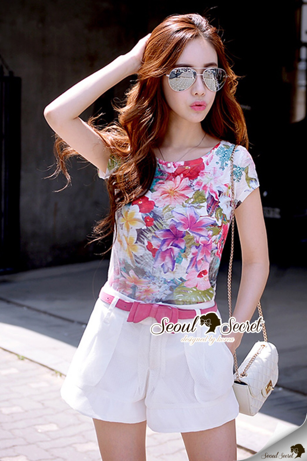 Lady Ribbon Korea Brand SS11060616 Seoul Secret Say's... Summer Variously Blossom Color Set