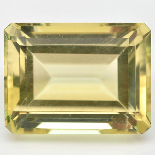 พลอยควอตซ์ (Lemon Quartz) พลอยธรรมชาติแท้ น้ำหนัก 12.30 กะรัต