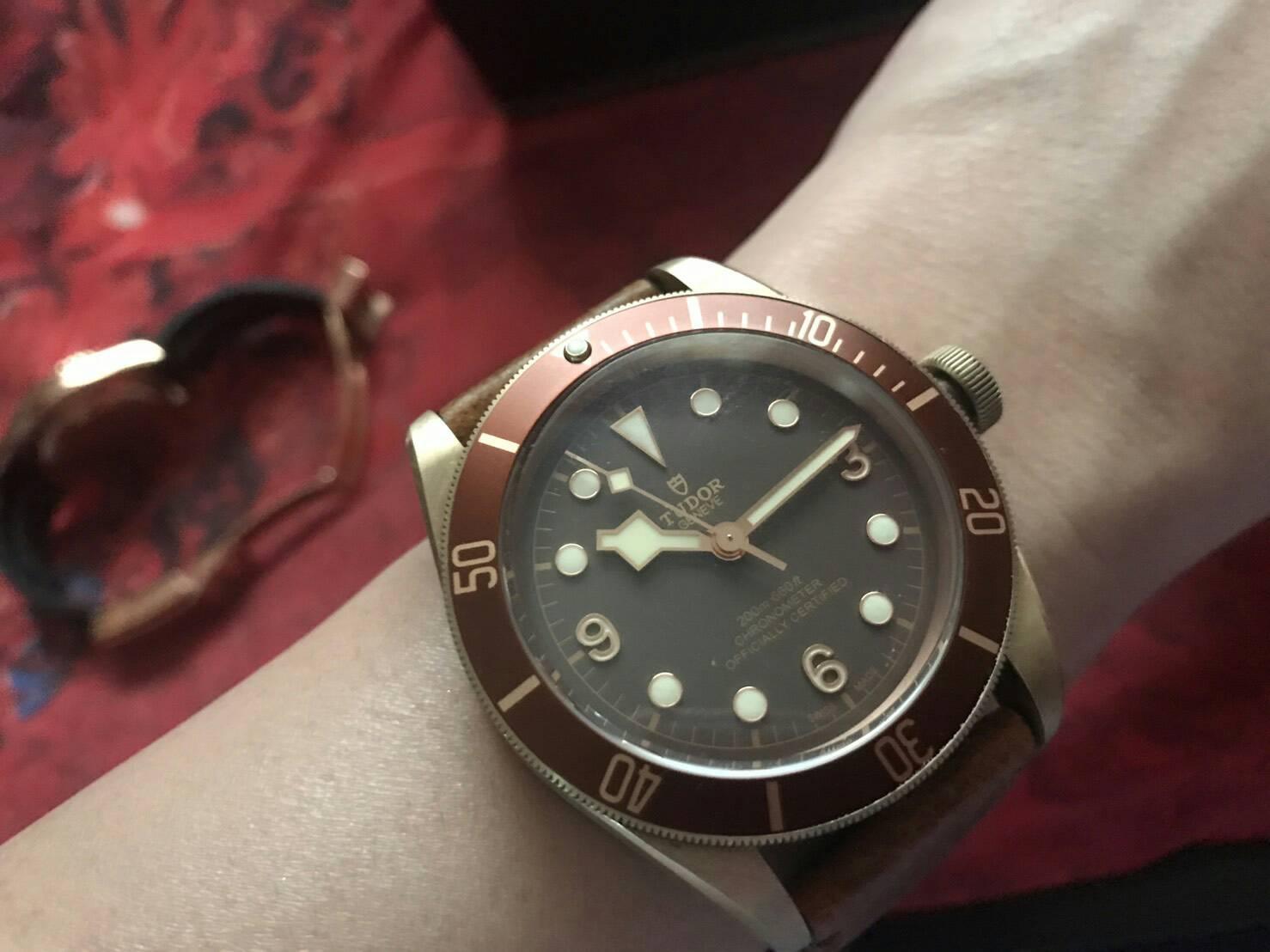นาฬิกาก๊อป Tudor Black Bay Bronze เกรด Mirror และ เกรด Swiss