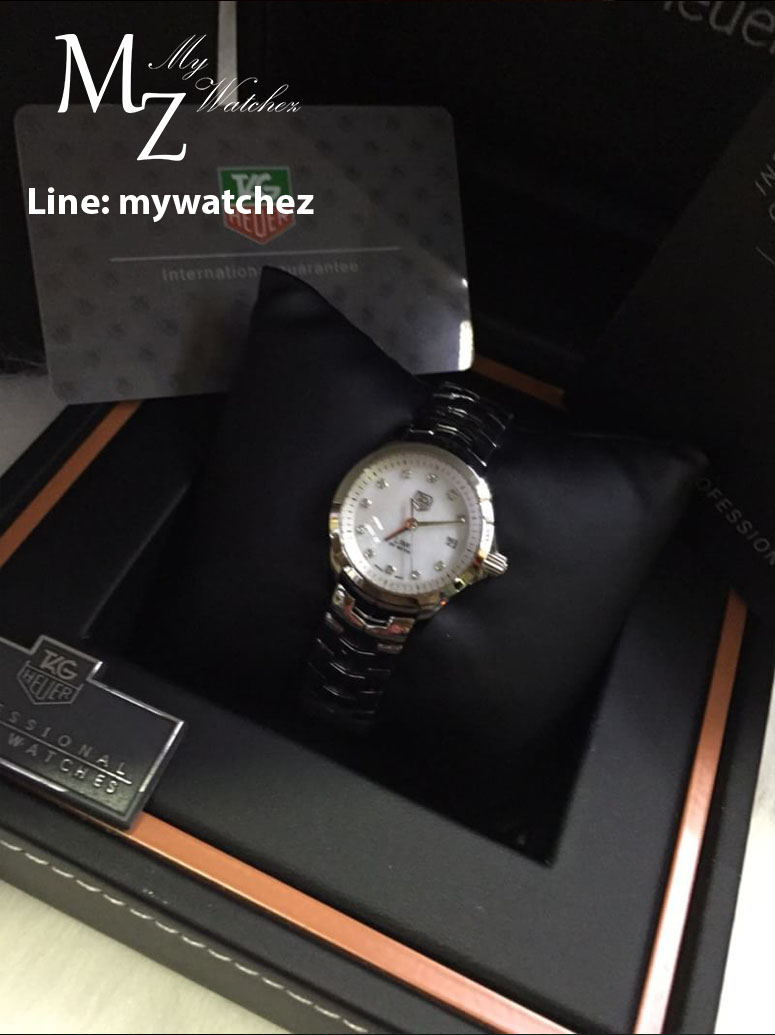 Tag Heuer Link 200 Meters Lady - Stainless White Dial