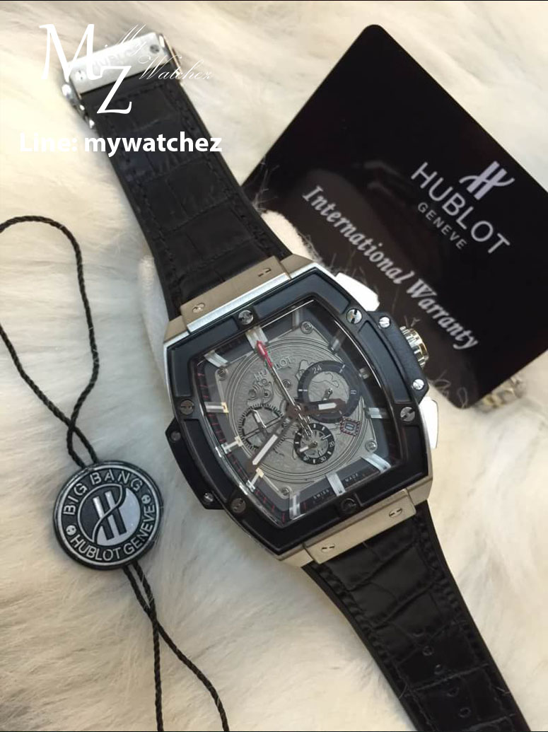 Hublot Mp-06 Aryton Senna Champion 88 - ฺBlack Bezel Stainless