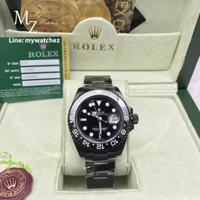 Rolex GMT Master II All Black