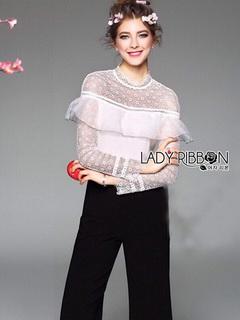 Lady Angela Black & White Jumpsuit