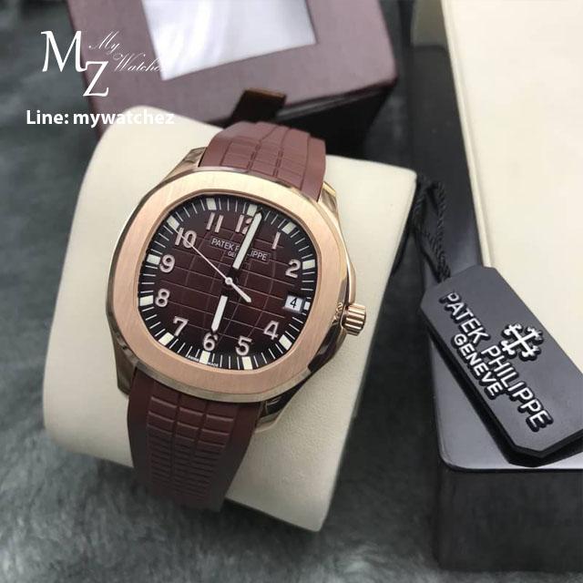 Patek Philippe Aquanaut - PP 5167R Chocolate Dial