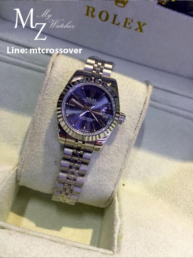Rolex Datejust Lady Darkblue Stainless Steel