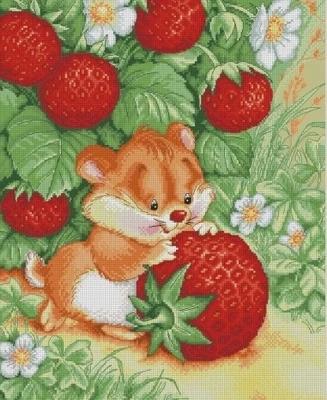 Picking Strawberry(ไม่พิมพ์/พิมพ์ลาย)