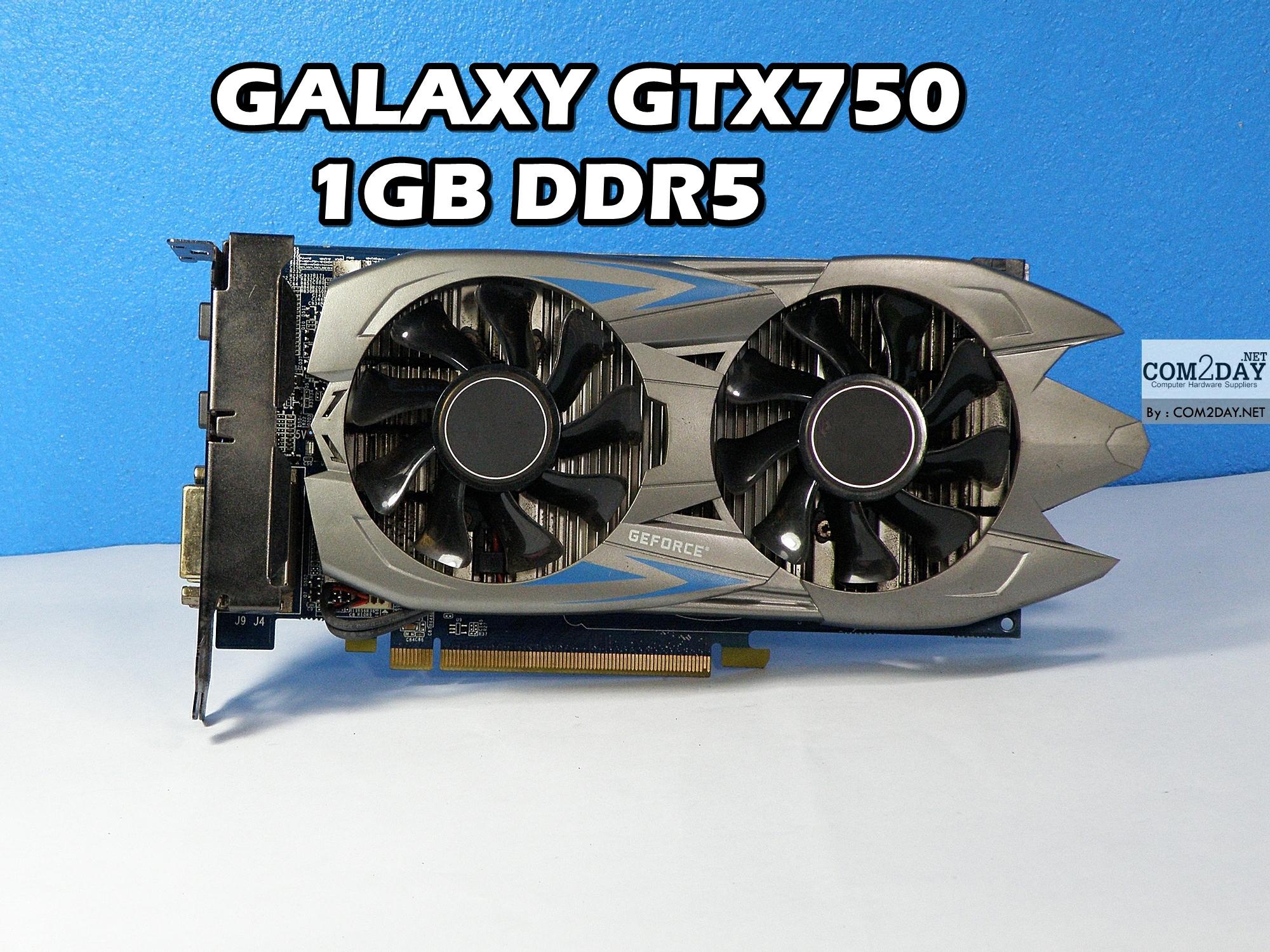 GALAXY GTX750 1GB DDR5