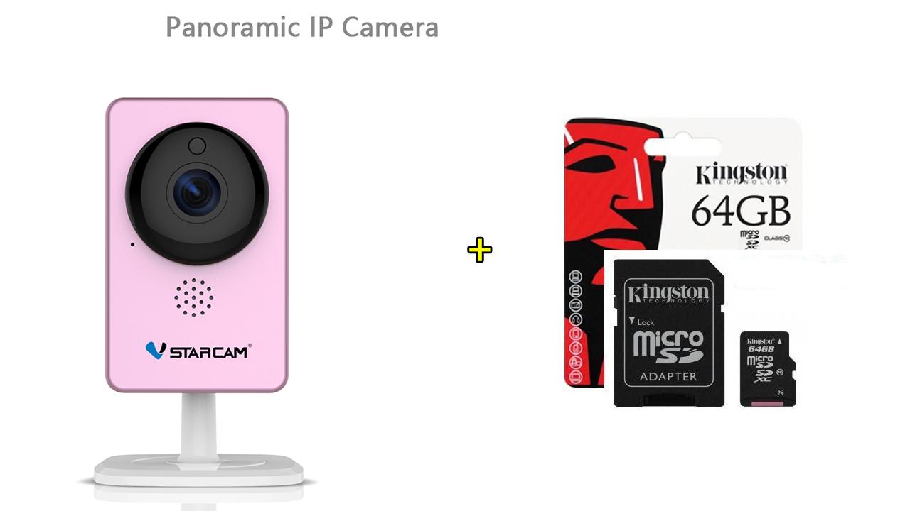 VStarcam C60S 64GB Panoramic IP Camera